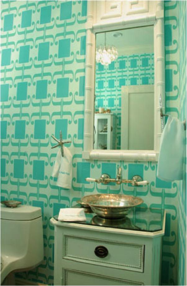Given Campbel wallpaper bathroom