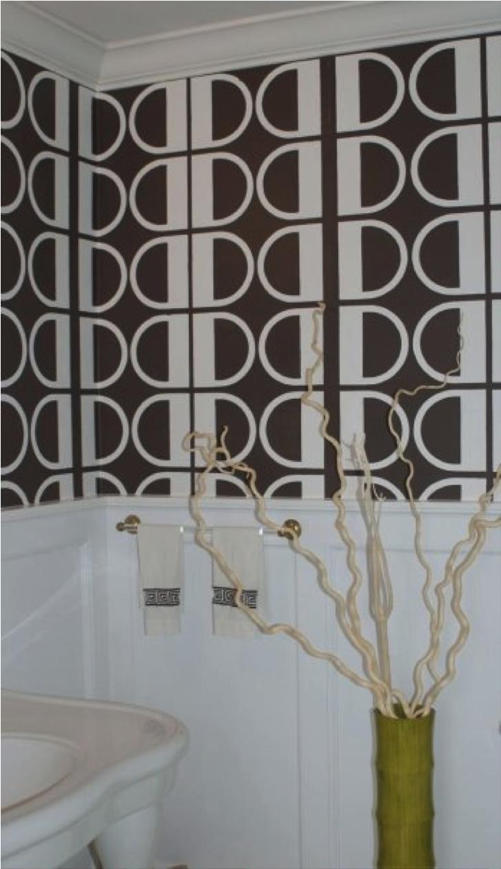 Given Campbel wallpaper powder room