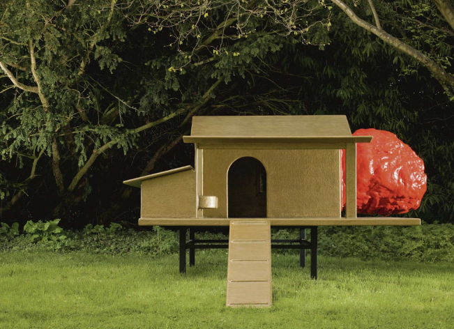 Utopian Doghouse by Rotterdam-based design collective Atelier Van Lieshout