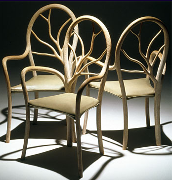 Sylvan Chair by John Makepeace