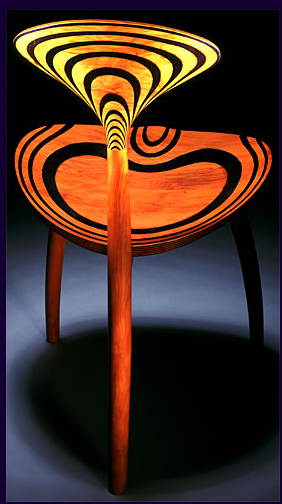 Trine Chair by John Makepeace