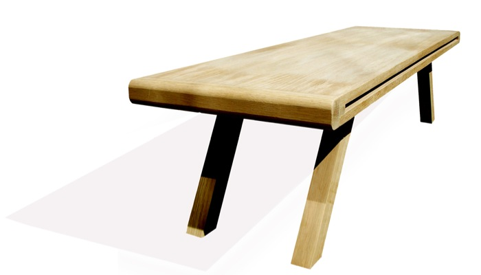 Enkelt Table by Polly Westergaard