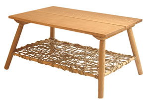 Hemp Table by Robert Eaves