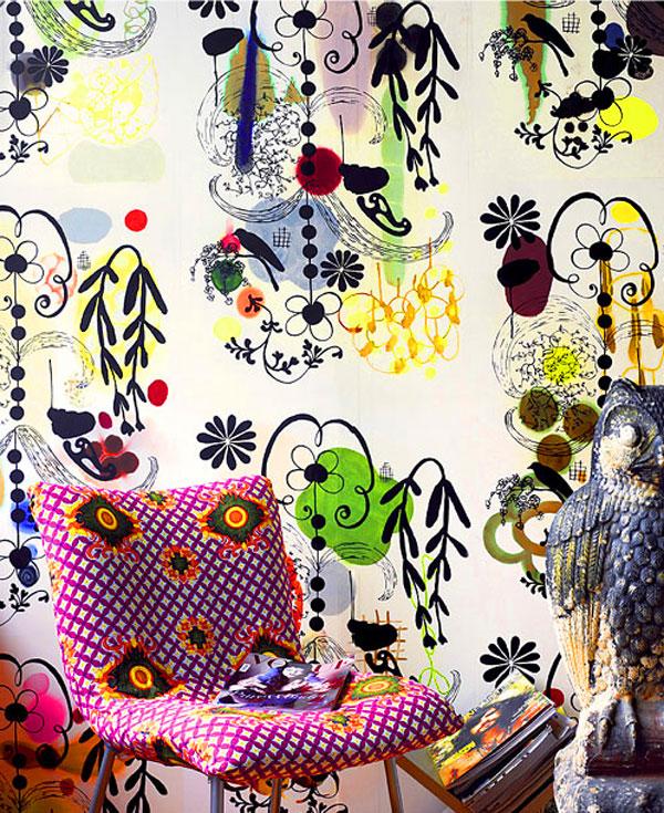 Rococo Meets Modern At Nama Wallpaper