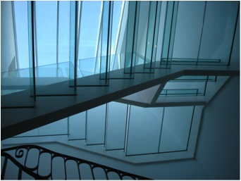 Glass Stairs by Fine Edge Designs