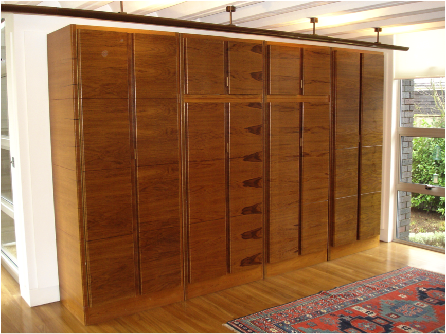 Teak Cabinets by Fine Edge Designs