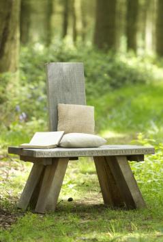 Marnie Moyle Green Oak Chair