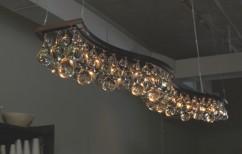 arctic pear chandelier double wave