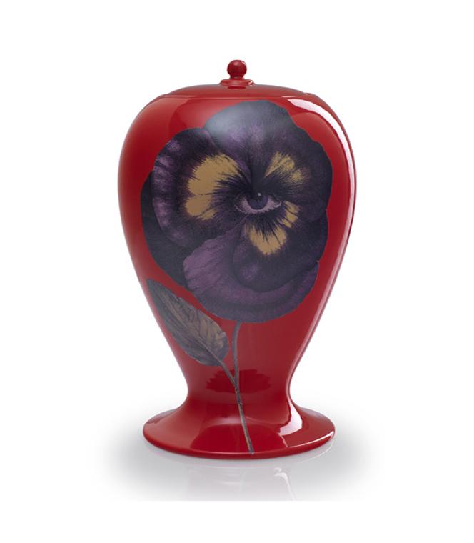 Fornasetti vase by Bitossi Ceramiche