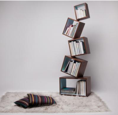 Malagana, bookcases, equilibrium