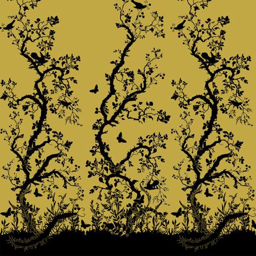 Bird branch wallpaper by timorous beasties