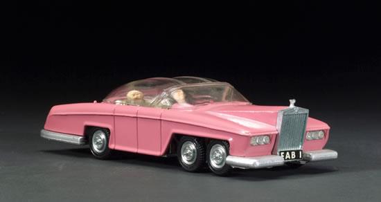 lady penelope pink rolls royce