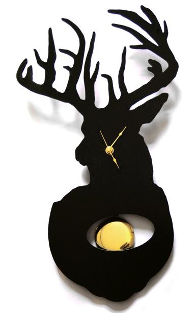 Westergaard Designs Stag Clock