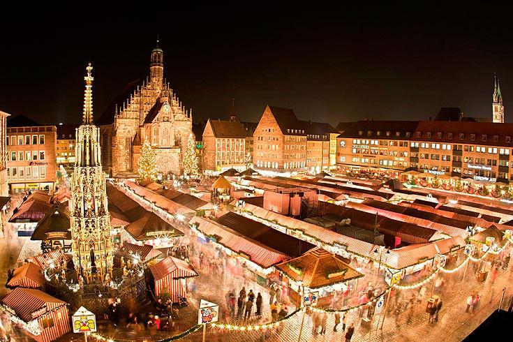nuernberger weihnachtsmarkt christmas market in nuremberg