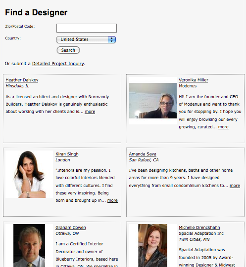 modenus design directory
