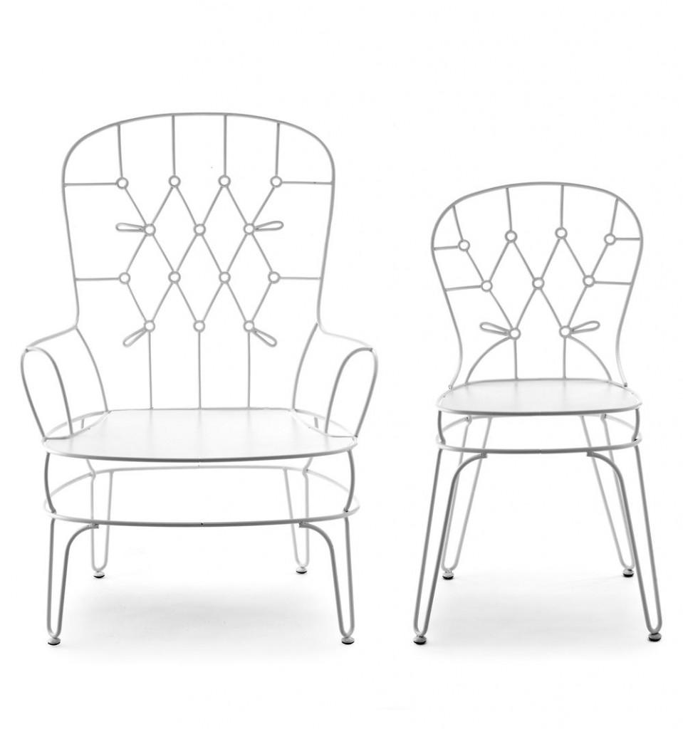 fildefer wrought iron chairs by alessandra baldereschi for skitsch