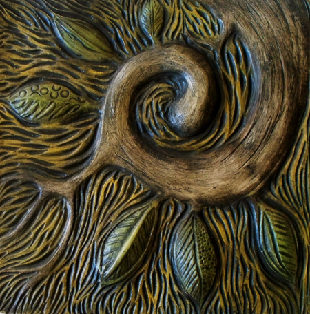 Marie Gibbons spiral tree branch