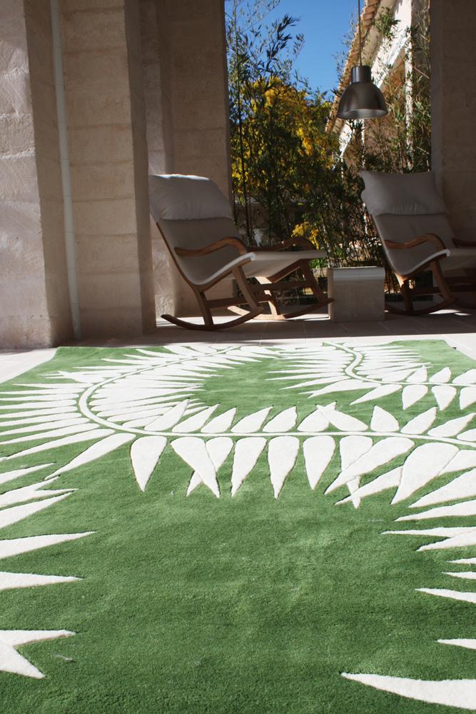 Botanica - Kiri rug by Naja Utzon Popov