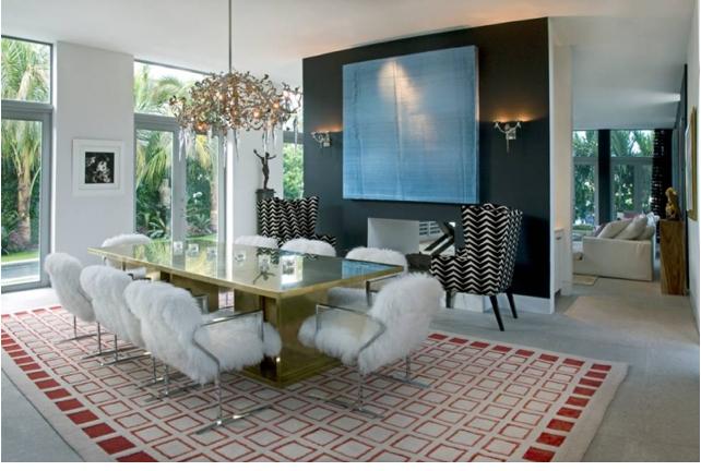Villa Nirvana by Brown Davis dining room