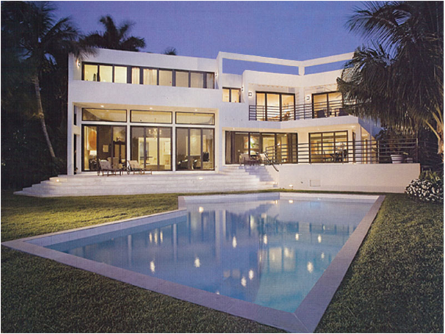 Miami Vice House by Brown Davis