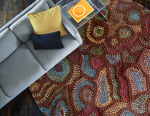papunya Marline b Custom Handmade Carpets