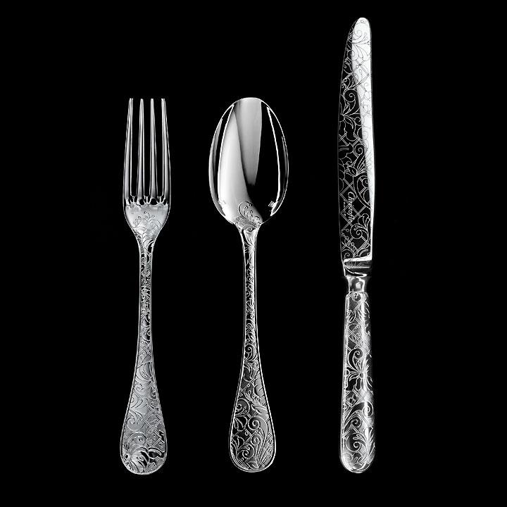 Jardin D'Edin flatware collection by Marcel Wanders