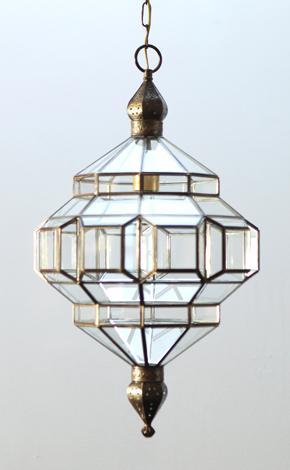 glass and metal lamp Grenada lamp