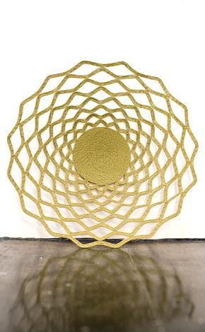 golden wire basket Zulu