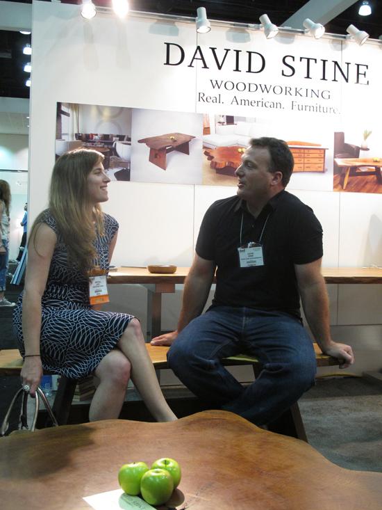 David Stine and Kristall