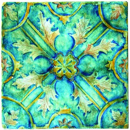Jacqueline Moore A Painters Tale in Tile