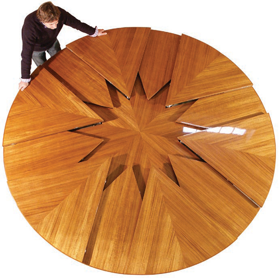 Elegant Back In 1835 Robert Jupe, Patented His Design For An Expanding Table. A  Century And A Half Later. DB Fletcher Developed The Fletcher Capstan Table.