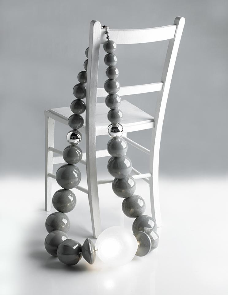 jewellery as lighting by Penelope Batley