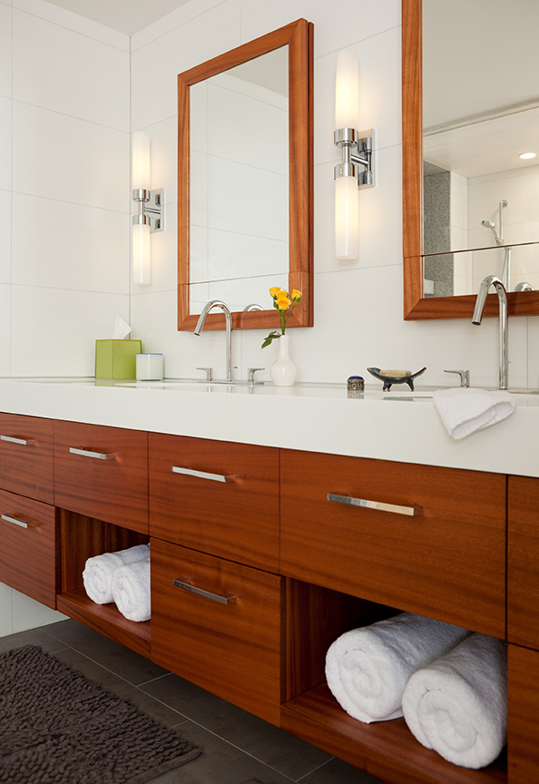And finally. Before  amp  after bathroom inspiration by Laura Mannes Interior design