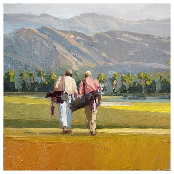 view of golf companians art