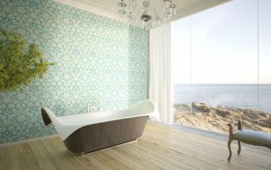 ocean wing bath tub by bagno sasso