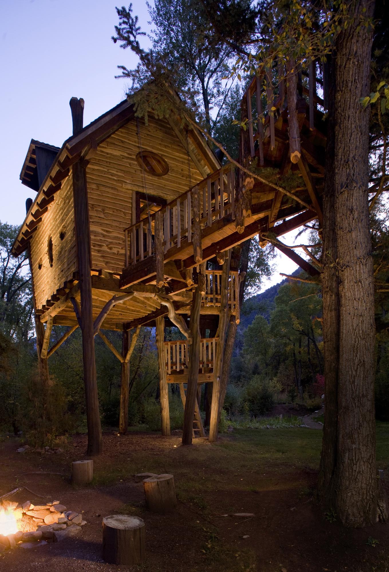 Modern Tree Houses David Rasmussen Colorado Modern Furniture And Tree Houses