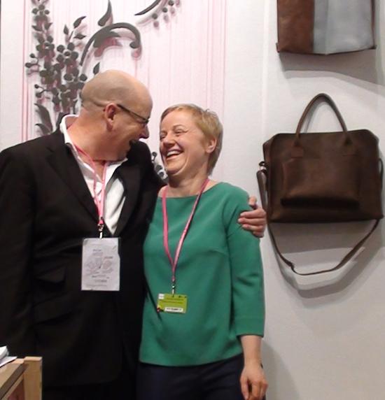 Doreen Westphal and Tim Bogan at Maison et Objet