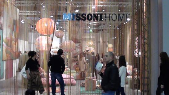 Missoni Home at Maison et Objet
