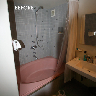 Before and after -  ixdesign in New York's West Village