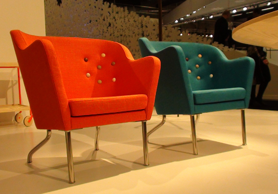 Beatrix easy chairs,  from Kallemo.