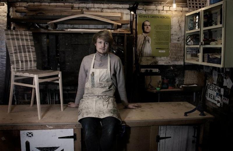 SEBASTIAN COX FURNITURE - IN WORKSHOP