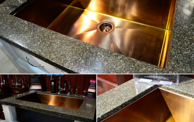 ROHL Stainless Copper Sink
