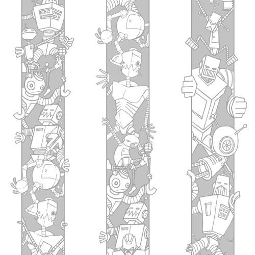 The Three Laws Of Robotics - Swatch - Evil Robot Designs Wallpaper