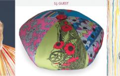 Antii Sullivan SJ Guest Pillow Pouf Color Illustrations Artwork Nature