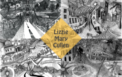 Lizzie Mary Cullen illustrations drawing london bridge piccadilly