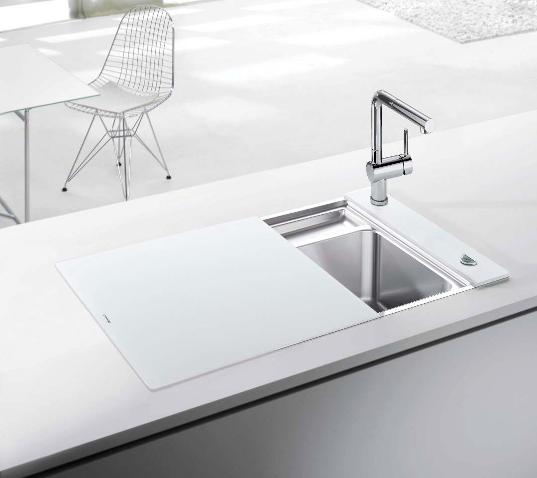 crystalline by blogtour sponsor blanco - Glass Sink Kitchen