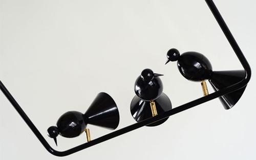 Alouette  lights by Atelia Areti