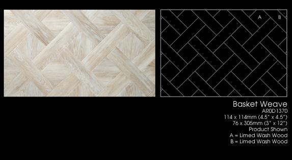 Amtico Vinyl Tile flooring -  Basket Weave
