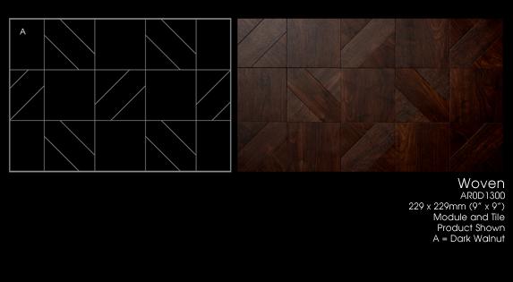 Amtico Vinyl Tile flooring -  Woven