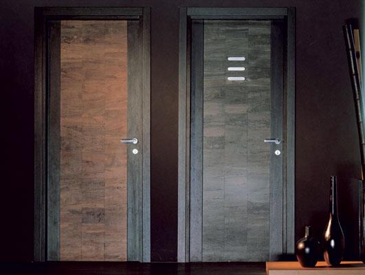 Wooden doors  by Italian company Ghizzi & Benatti